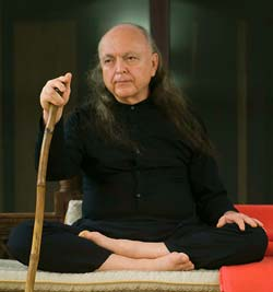 Avatar Adi Da sitting in lotus position
